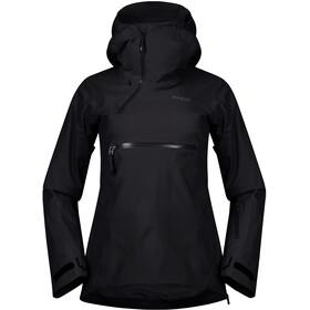 Bergans Stranda Insulated Hybrid Anorak Women black/solid charcoal